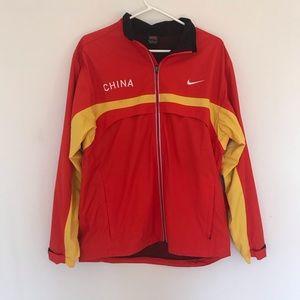Red vintage Nike jacket